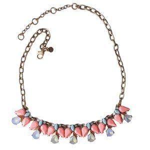 J. CREW Angel Rhinestone Necklace